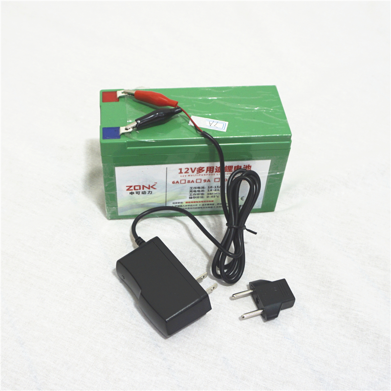 High Quality For LG 12V 12AH,11AH,10AH,9AH,8AH Li-ion Rechargeable Batteries For Power Bank With Free Charger
