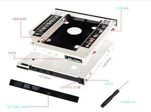 12.7mm SATA HDD SSD Hard Drive Disk Caddy/Bracket for Medion Akoya P6619 P7612 X7811 E5218 E5217 P7615 P6620 P6512 E7211 P6624