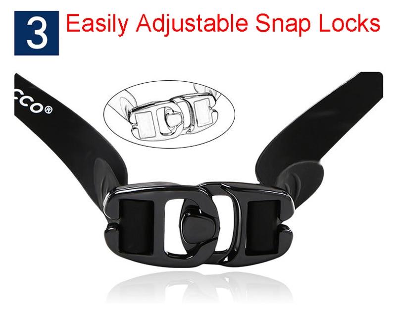 Professional Diopter Myopia Silicone Swimming Goggles Anti-Fog Waterproof With Earplugs 18