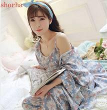 581747165 3 piezas conjuntos de moda de verano maternidad lactancia pijamas algodón  lactancia pijamas para mujeres embarazadas embarazo ro.