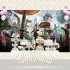 Vinyl Photography Background Magic Movie Alice In Wonderland Birthday Party Children Backdrops For Photo Studio G