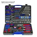 WORKPRO 139 PC herramientas hogar conjunto de herramientas destornilladores Juego de alicates tomas llave