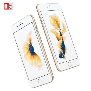 """Débloqué Apple iPhone 6S WIFI double coeur smartphone 16G/64G/128GB ROM 4.7 """"affichage 12MP 4K vidéo iOS LTE téléphone d'empreintes digitales"""