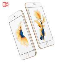 "Desbloqueado Apple iPhone 6S WIFI Dual Core smartphone 16G/64G/128GB ROM 4,7 ""Pantalla 12MP 4K video iOS LTE teléfono con huella digital"