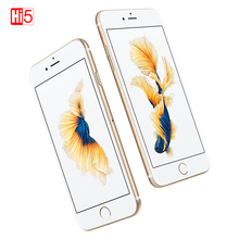 """ロック解除アップル iphone 6 s wifi デュアルコアスマートフォン 16 グラム/64 グラム/128 ギガバイト rom 4.7 """"ディスプレイ 12MP 4 4k ビデオ ios lte 指紋電話"""