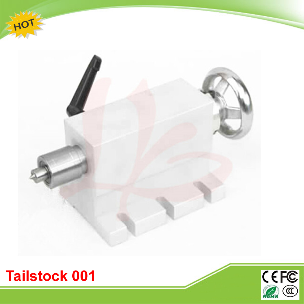 CNC Tailstock 001 for Rotary Axis, A Axis, 4th Axis, CNC Router Engraver Milling Machine cnc 5 axis a aixs rotary axis three jaw chuck type for cnc router