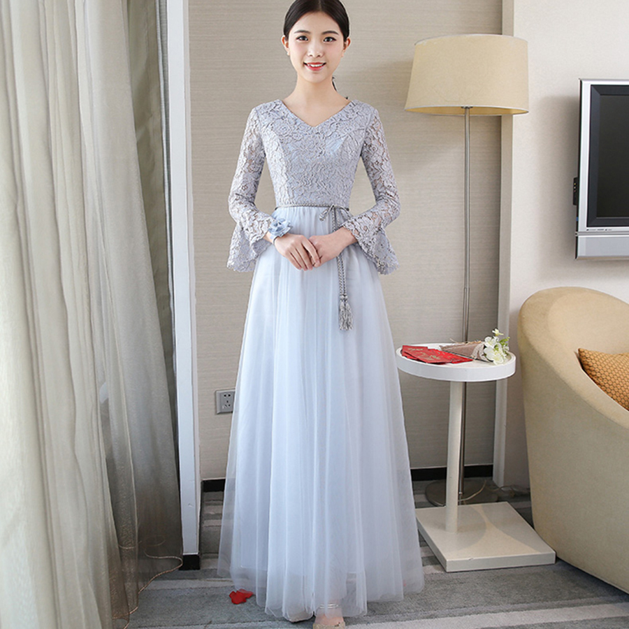 Long Lace Dress Women Summer Elegant 2018 Plus Size Clothe Bohemian Vestido  Longo Holographic Bodycon Dress Kaftan Roupa QF14-in Dresses from Women s  ... 3da9534eef50