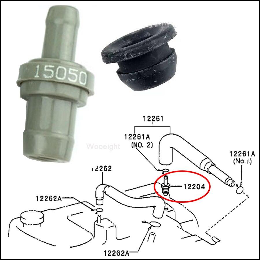 Wooeight 2 шт./компл. двигатель автомобиля PCV вентиляционный клапан уплотнение втулки 12204 15050, 90480 18001 для Toyota Corolla 1993 1997 1.6L 1.8L|Клапаны и детали|   | АлиЭкспресс