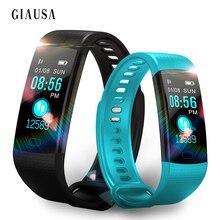 Купить с кэшбэком 2019 New Smart Watch  Fitness Bracelet Heart Rate Monitor IP67 Waterproof Color Screen Sport Tracker Watch PK Mi Band 2 3 Women