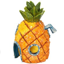 Mini Aquarium For House Pineapple Cartoon House Home Fish Tank Aquarium Decor