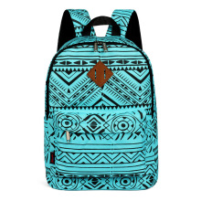 Advocator Nylon Printing School Bags Chirldren Green Backpack Kids Knapsack in Primary School Student School Bag for Boys/Girls