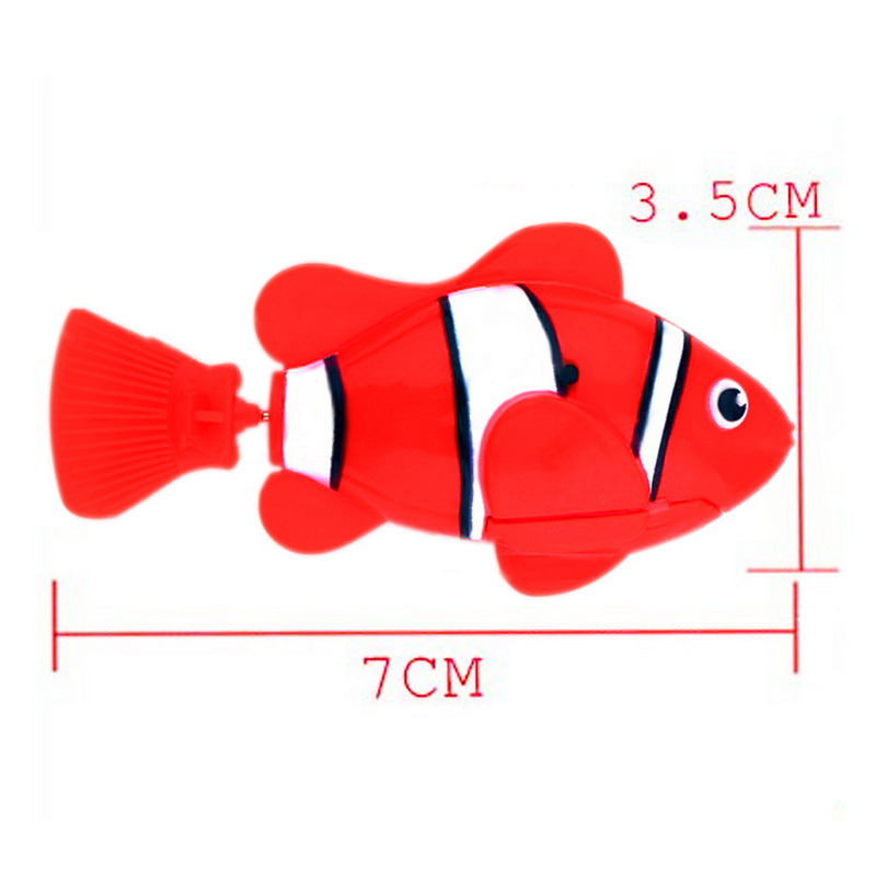Electronic battery powered robofish cat toy for Swimming fish cat toy