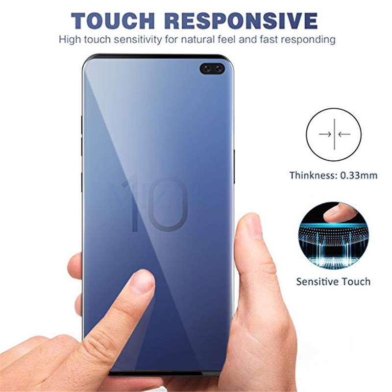 Image 5 - Protective glass on for Samsung s10e s10 plus for galaxy s9 s8 tempered glas s 10 e 9 8 s10plus samsong gelaksi screenprotector-in Phone Screen Protectors from Cellphones & Telecommunications