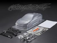 YUKALA 1/10 unpainted PC clear body shell Nissna S15 for 1/10 RC racing on road drift car 190mm