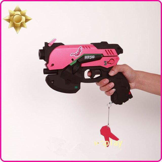 Hot Game D.Va DVA Cosplay Prop Gun Weapons Accessories