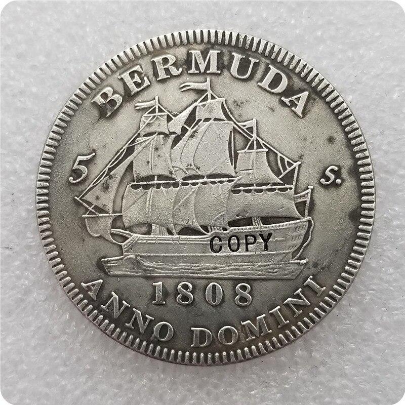 Коллекция 1808 года, шотландская Корона, Джордж III, копия памятных монет-копия монет, медаль коллекционные монеты