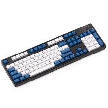 شحن مجاني Dsa أغطية مفاتيح فارغة مطبوعة 108 pbt سميكة للوحة المفاتيح الميكانيكية Dsa ملامح ISO ANSI تخطيط