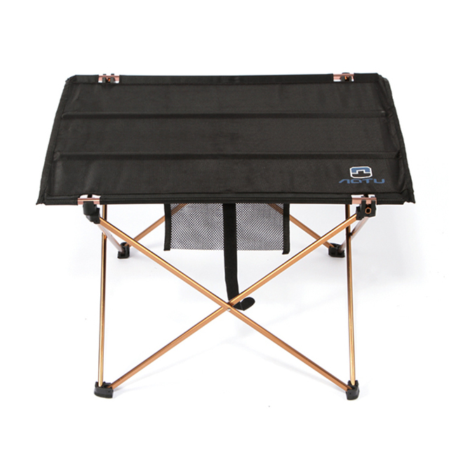 Lightweight Aluminium Alloy Portable Folding Table For Camping Outdoor Activties Foldable Picnic Barbecue Desk L56