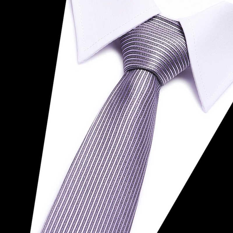 ผู้ชายธุรกิจ Suite เนคไทสีทึบสีฟ้าสีเขียวผ้าไหม Gravatas ชาย Polka Dot คอ Ties งานแต่งงาน Party Jacquard Tie