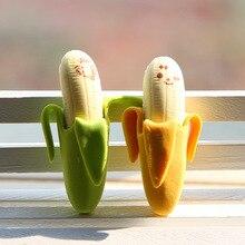 Студенты банан резина ластик фрукты прекрасный школьные карандаш симпатичные принадлежности канцелярские