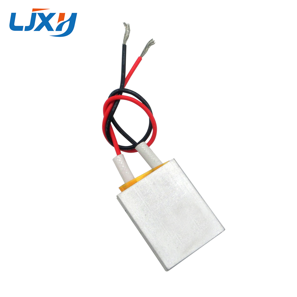 LJXH 2pcs/lot 25x20x5mm PTC Thermostat Aluminum Heating Element AC220V 70/100/120/150/180 Degree Constant Temperature PTC Heater 1pcs ptc thermostat aluminum heating element heater plate 60w ac dc 12v 180 degree incubator dehumidification mayitr