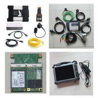 2in1 diagnostic tool MB Star C4 SD Connect + For BMW icom next a b c + IX104 tablet i7,4g + mb sd c4 icom next a2 ssd software