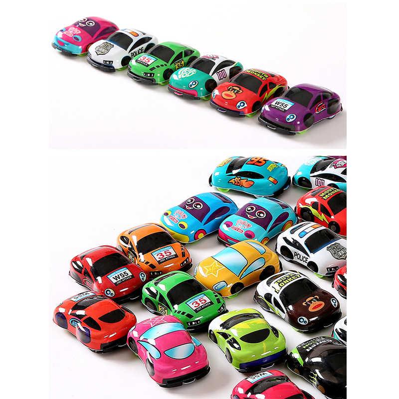 Pull Back Auto Speelgoed Auto Kinderen Racing Car Baby Mini Cars Cartoon Pull Back Bus Vrachtwagen Kinderen Speelgoed Voor Kinderen jongen Geschenken SPEELGOED-004