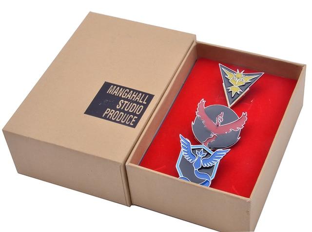 Комплект аниме брошек с покемонами 1