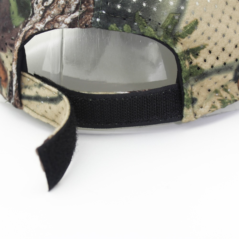 Jungle Old Tree Hat Hunting Fishing Camo Cap Adjustable Camcouflage Baseball Cap For Men (6)