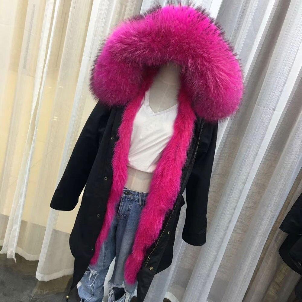 Pink En Real Fourrure De Survêtement Femmes Laveur Veste Sky Parka Collier Hiver Réel Rose Big 75cm Blue 75cm 93cm Épais Length Parkas 75cm Renard Blue Manteau Blue 93cm Long 75cm Raton Doublure Rose 93cm Pink 2018 ZzUyZWfScq