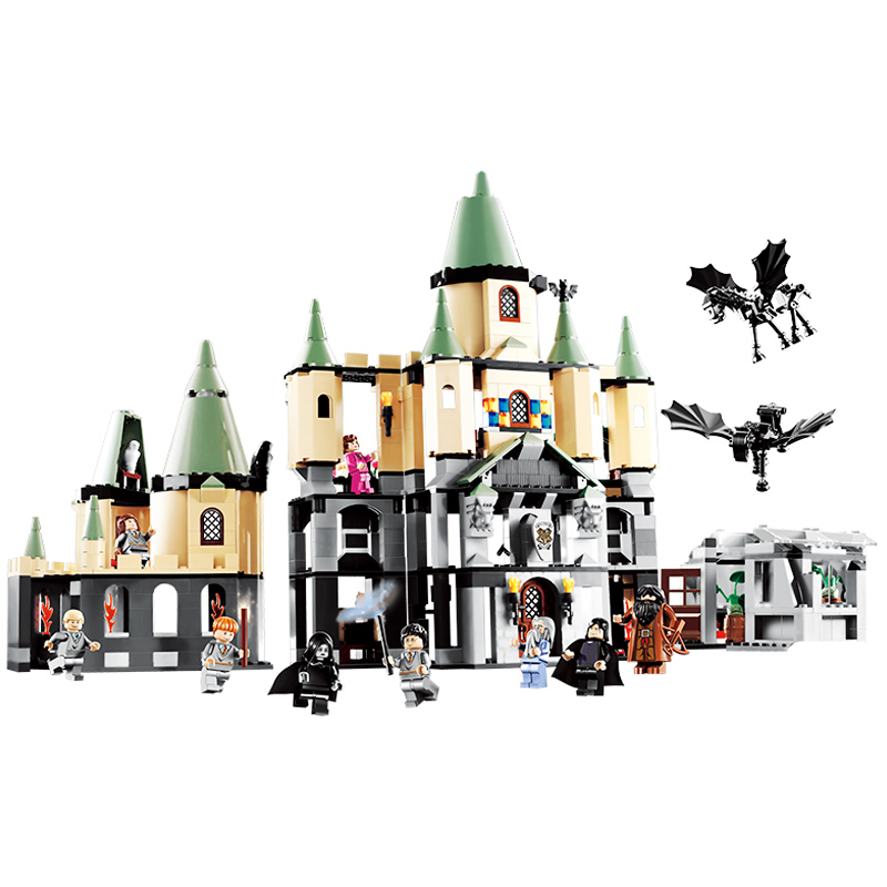 LEPIN 16029 1033pcs Movie Series The Magic hogwort castle Building Block Diy Brick Educational Toy For children Gift 16029