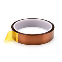 цена на 20mmX30M Gold Adhesive Tape High Temperature Heat Resistant Polyimide for Electronic Industry