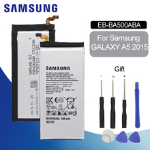Original Battery For SAMSUNG A500 EB-BA500ABE 2300mAh Samsung Galaxy A5 2015 A500FU SM-A500F A500M Replacement Phone