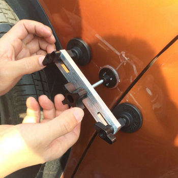 Ferramentas De Pdr Paintless Dent Repair Kit Extrator Dent Remoção Linha Placa Cola Varas Martelo Reverso Guias Cola Para Danos Causados Por Granizo