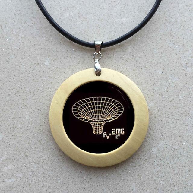 Atheist atom symbol natural wood necklace fashion atheist logo atheist atom symbol natural wood necklace fashion atheist logo atheism movement jewelry personalized women atheist gifts aloadofball Choice Image