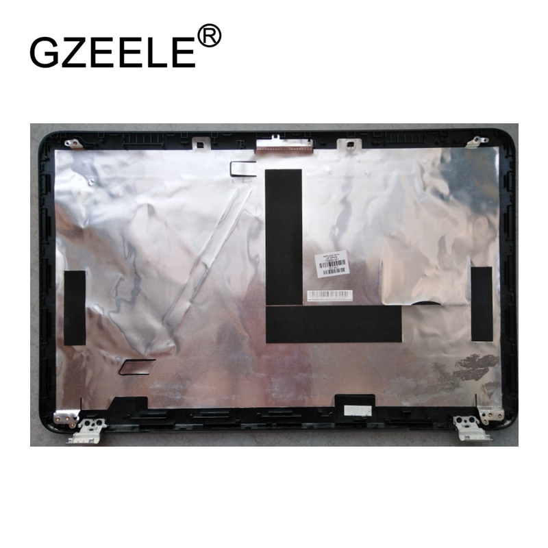 GZEELE New LCD top case Rear Display cover Assembly For HP PAVILION 15 15-E000 15-E back cover back shell A CASE BLACK gzeele new for hp elitebook 8460p 8470p laptop case back cover base bottom case back cover door black e cover 42804 001 hard