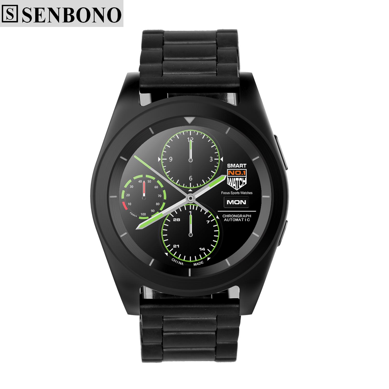 Prix pour SENBONO NO 1 G6 Sport Bluetooth 4.0 Smart Watch MT2502 HD écran sommeil moniteur de Fréquence Cardiaque podomètre Smartwatch pour ios Android