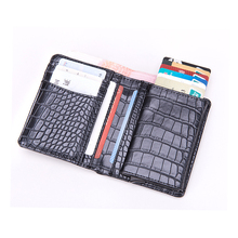 BYCOBECY 2019 New Wallet for Travel Multifunction Credit Card Holder Single Box Luxury Business Men and Women