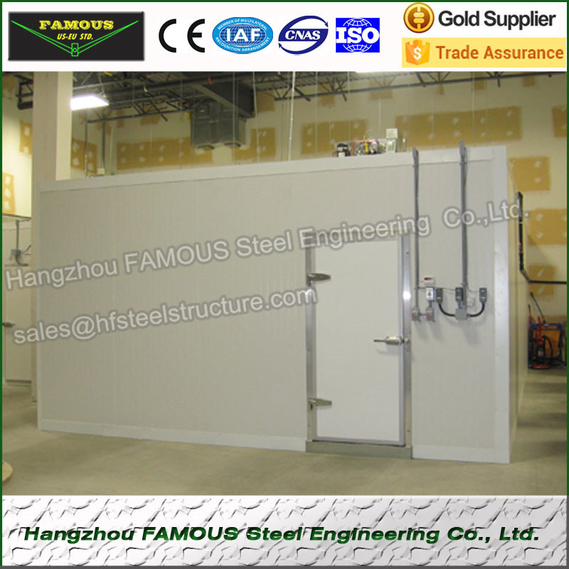 Quick-frozen Cold Storage For Fruit Vegetables And Cold Room Refrigeration Unit Chinese Design Corpse Cold Storage Price