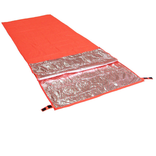 200 * 72cm Mini Ultralight Width Envelope Sleeping Bag For Camping Hiking Climbing Single Sleeping Bag Keep You Warm + Pouch 3
