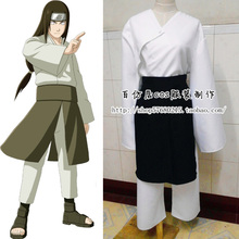 Halloween 2015 New Arrival Japanese Cartoon Naruto Hyuga Neji Kimono Anime Cosplay Costume Halloween Carnival Costumes for Men W