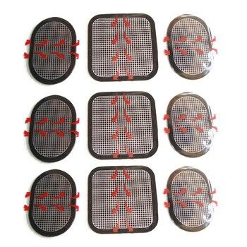 Тонкий тон Совместимость EMS совместимый обмен pad 3x3 наборы всего 9 (3 для передней и 6 для фланца)