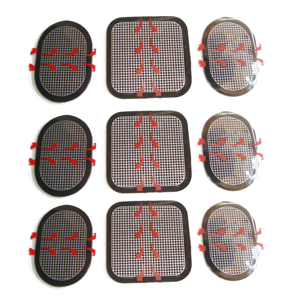 Slender-tone Compatible EMS Compatible Exchange Pad 3 X 3 Sets Total 9 (3 For Front And 6 For The Flank)