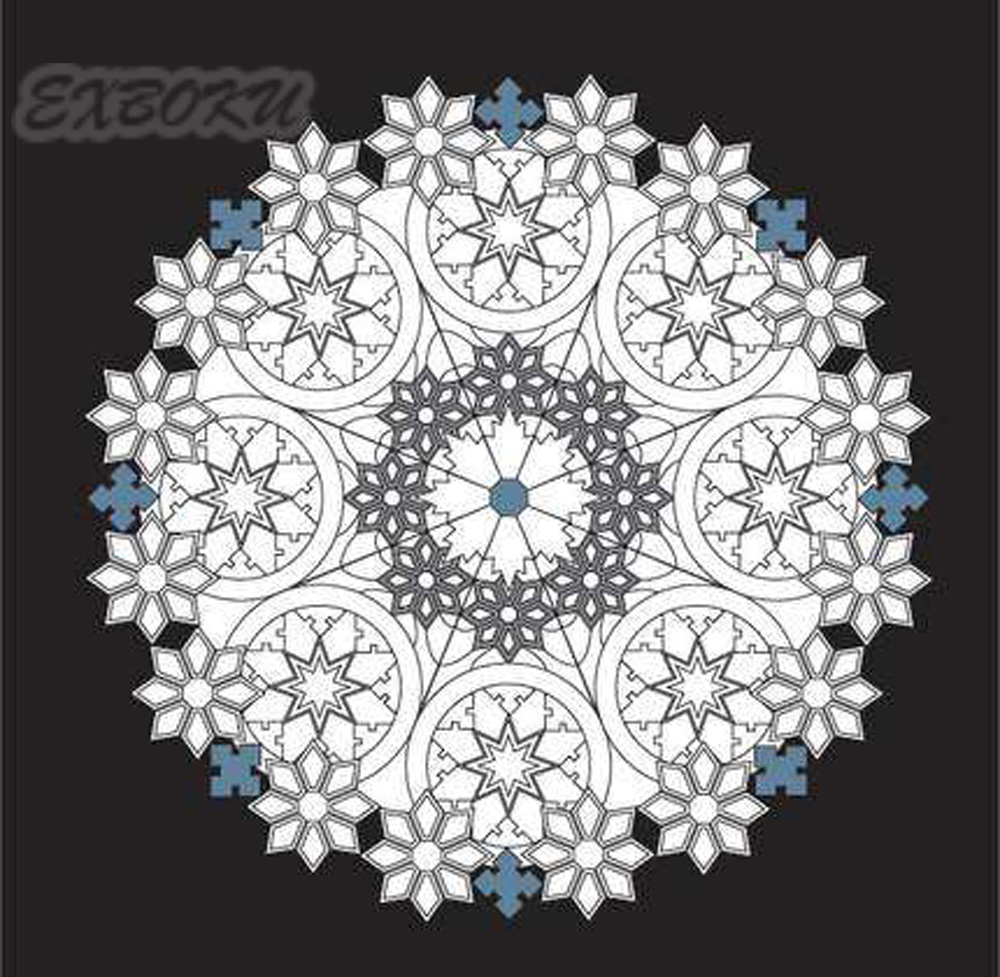 Magic-Mandala-stars-coloring-book-for-Children-Adults-Relieve-Stress-Picture-Art-Painting-Drawing-Colouring-Book (1)