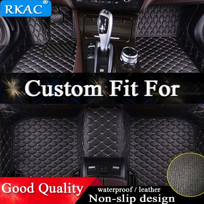 Tapis de sol de voiture sur mesure RKAC pour Cadillac tous les modèles SRX CTS ATS CT6 XT5 CT6 ATSL XTS SLS accessoires de voiture
