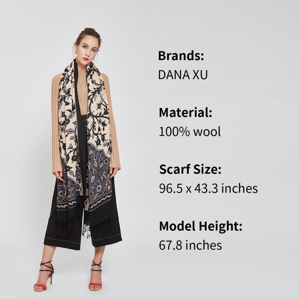 Mode Ull Kvinnor Halsduk Spanien Desigual Halsduk Pläd Tjock Stor - Kläder tillbehör - Foto 3