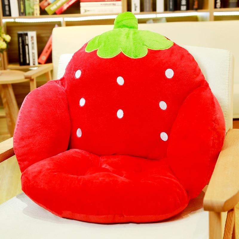 Urocza kreskówkowa poduszka na krzesło do wystroju wnętrz i biura, - Tekstylia do domu