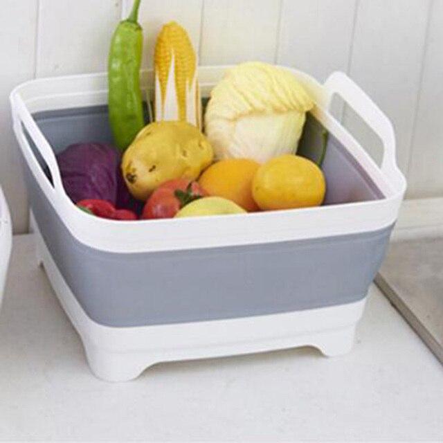 Scalable Sink Basket Storage Gadget Tools Sink Holder Fruit Vegetable Organization Shelf Holder For Kitchen finishing gadgets23