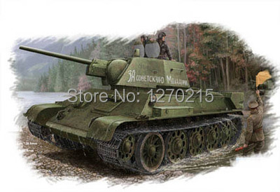 Hobby Boss 84808 1/48 T-34/76 Tank(Model 1943 Factory NO.112)