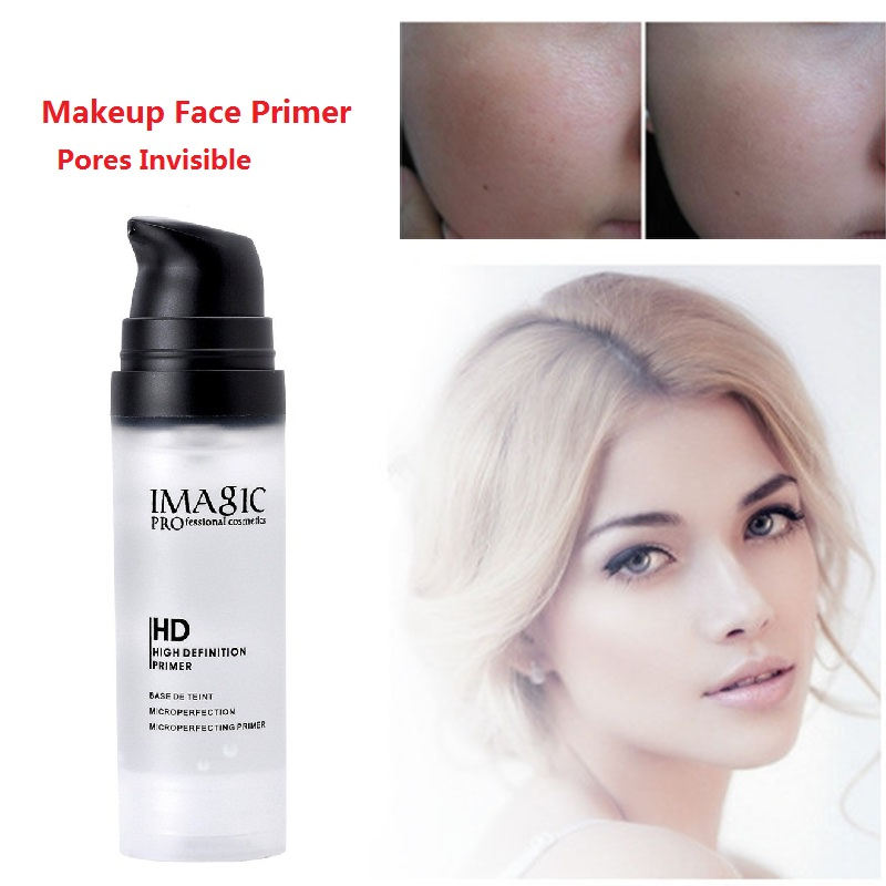 Profession High Definition Pores Invisible Makeup Base Face Primer Charm Moisture Foundation Liquid Smooth Concealer Pre-makeup